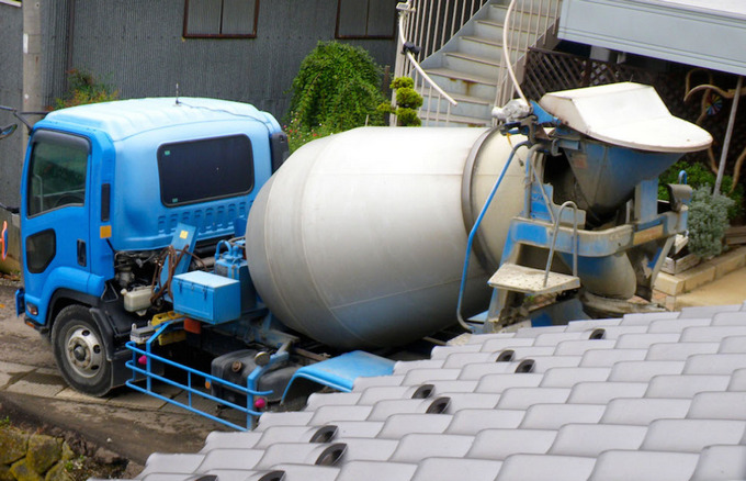 コンクリートポンプ車