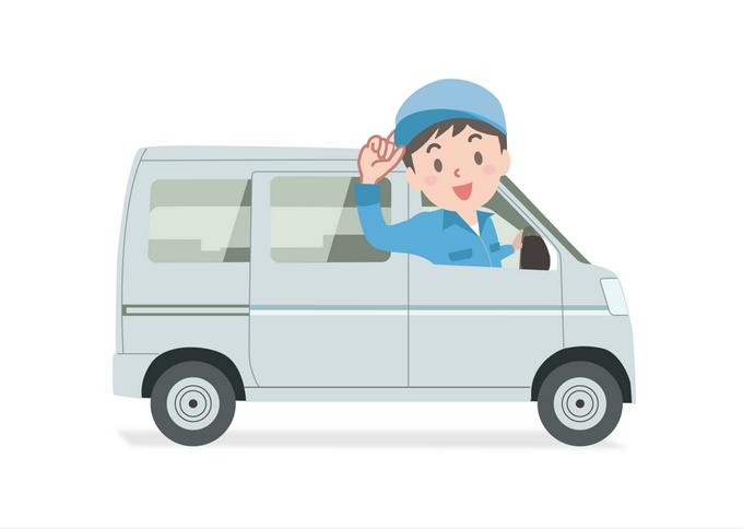 ヤマト運輸の軽四ドライバー